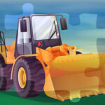 Bulldozers Jigsaw Game